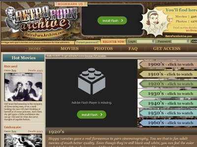 RetroPornArchive Porn Site