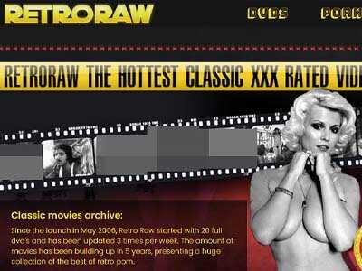 RetroRaw Porn Site