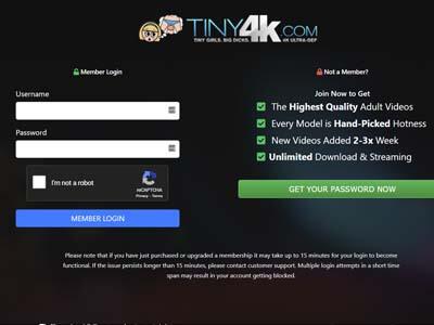 Tiny4K - Tiny4K.com - 4K Porn Site