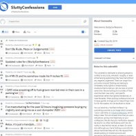 /r/SluttyConfessions - Reddit.com - Adult Story Site