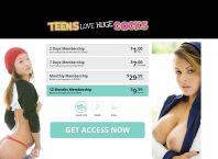 TeensLoveHugeCocks - TeensLoveHugeCocks.com - Teen Porn Site