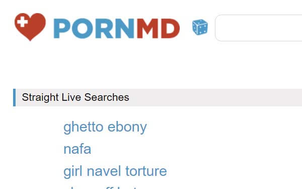 PornMD Live Search