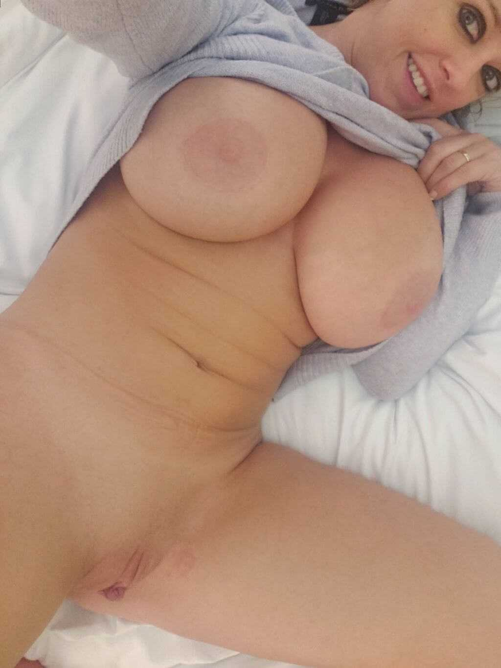 Nude amateur with firm tits
