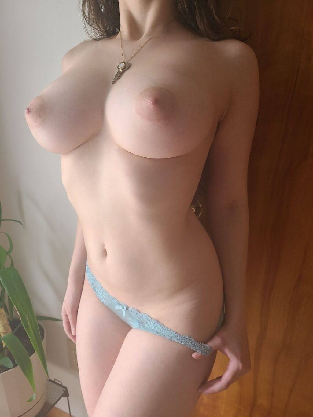 Naked tied eagle spread